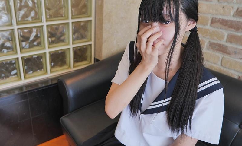 【個人攝影】茜18歳黑髪美少女無套中出【山射】
